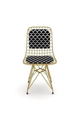 Kenzlife Kafes Tel Sandalyesi 1 Li Mazlum Altviona Sırtminderli Ofis Cafe Bahçe Mutfak