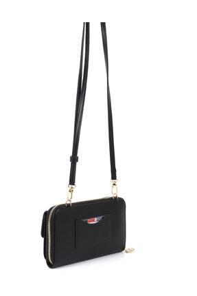 Silver Polo Siyah-Mat Siyah Kadın Cüzdan 1Sılw2024221