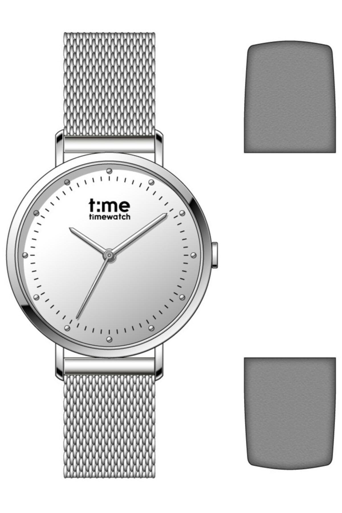 Timewatch Time Watch Tw.131.4 Csc Kadın Kol Saati Deri Kordon Hediyeli 1