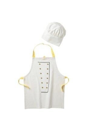 BARBUN Lkea Toppklocka Çocuk Aşçı Önlük Ve Şapka