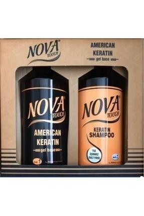 Nova Touch Keratin + Şampuan 1000 ml.