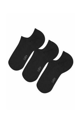 SUWEN Kadın Blck/Blck/Blck 3 Lü Paket Kadın Çorabı