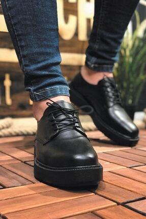 Chekich Fantasya Siyah Taban Erkek Ayakkabı Siyah Ch001