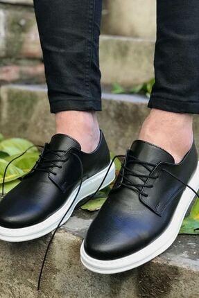 Chekich Bt Erkek Ayakkabı Siyah Ch003