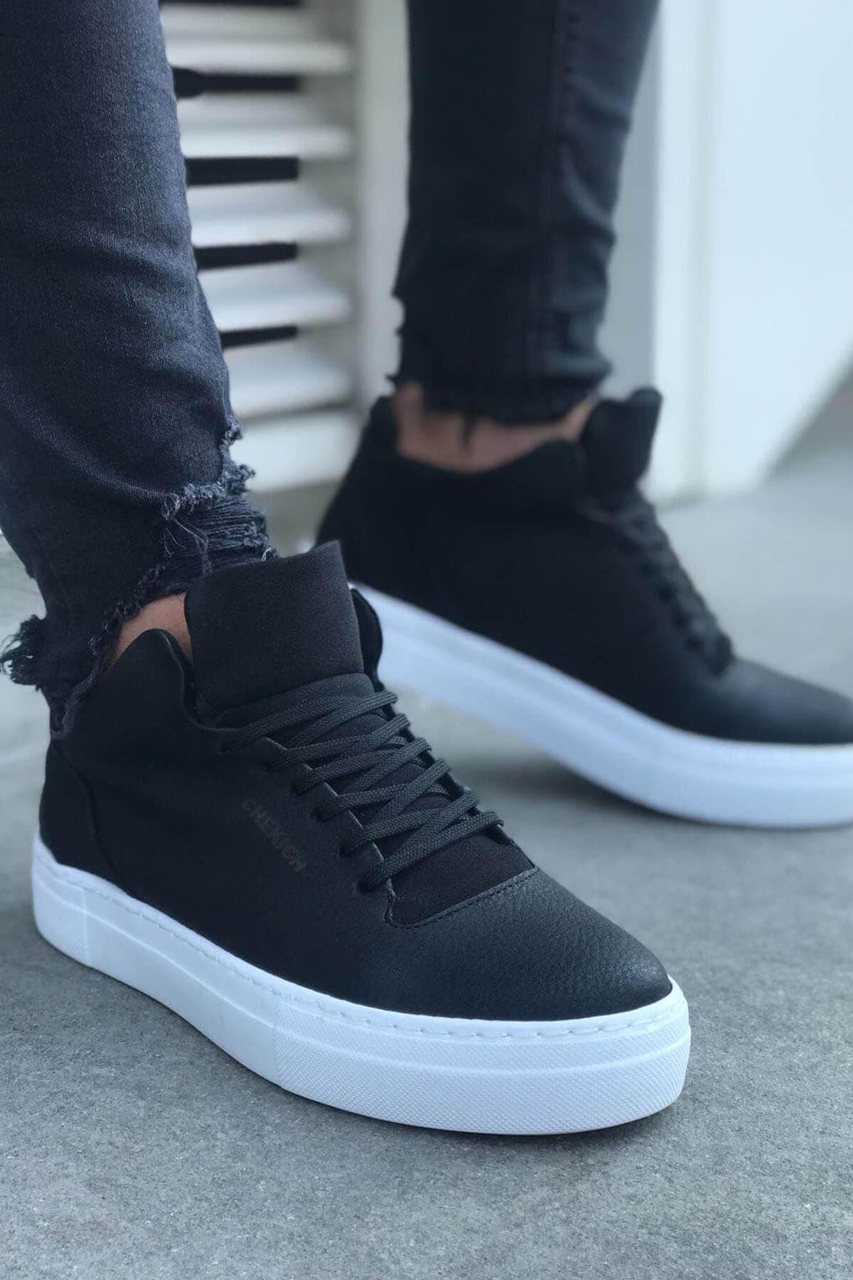Chekich Bt Erkek Ayakkabı Siyah Ch004 1