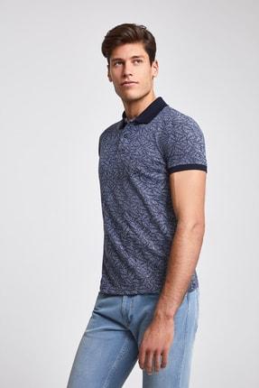 D'S Damat Lacivert Renk Erkek  T-shirt (Slim Fit)