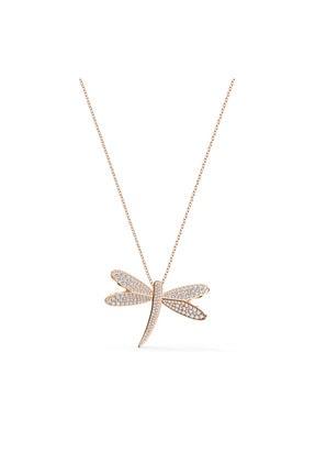 Swarovski Kolye Eternal Flower-necklace Lng Czmo-ros 5524856