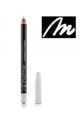 Flormar Beyaz Eyeliner - Waterproof Eyeliner 113 Pure White