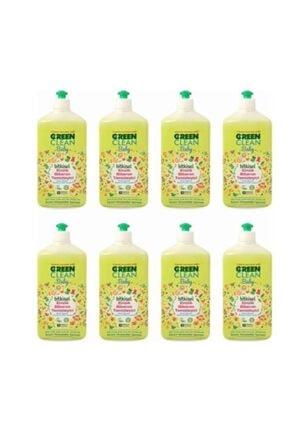 U Green Clean Baby Bitkisel Biberon Emzik Temizleyici 8 X 500 ml