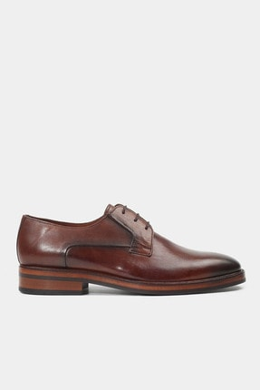 Hotiç HAKİKİ DERİ Taba Erkek Klasik Ayakkabı
