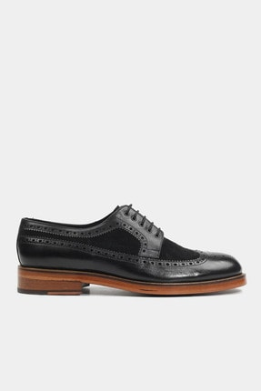 Hotiç HAKİKİ DERİ Siyah Erkek Klasik Ayakkabı