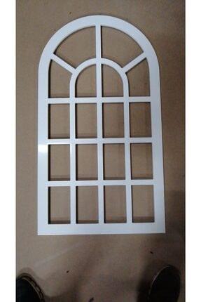 Variant Wood Dekoratif Boyalı Pencere Ayna