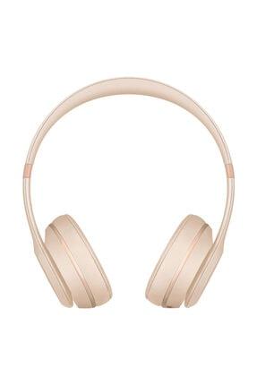 Beats Solo3 İpeksi Altın Bluetooth Kulak Üstü Kulaklık