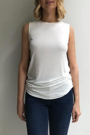 Ebru Günay Örme Bicolor Bluz