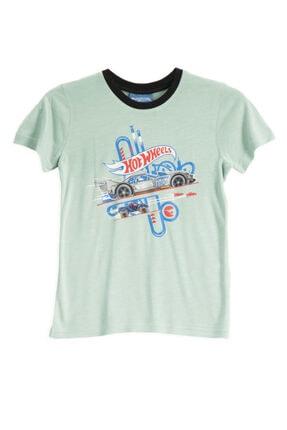 HOT WHEELS Lisanslı Mint Erkek Çocuk T-shirt