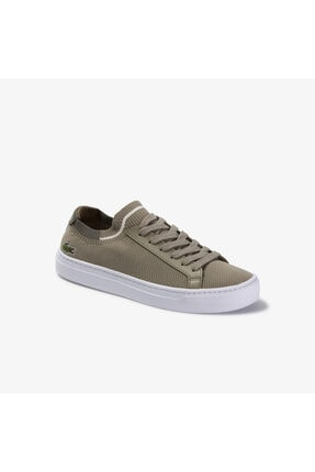 Lacoste La Piquee 120 2 Cfa Kadın Haki Sneaker 739CFA0028