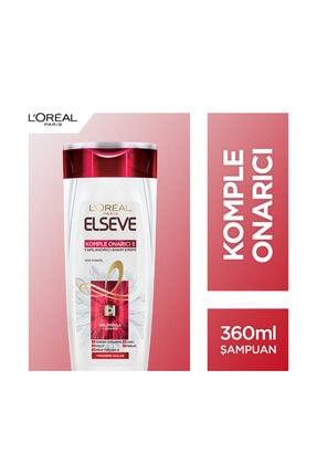 L'Oreal Paris Elseve Komple Onarıcı 5 Yıpranmış Ve Cansız Saçlar İçin Şampuan 360 Ml