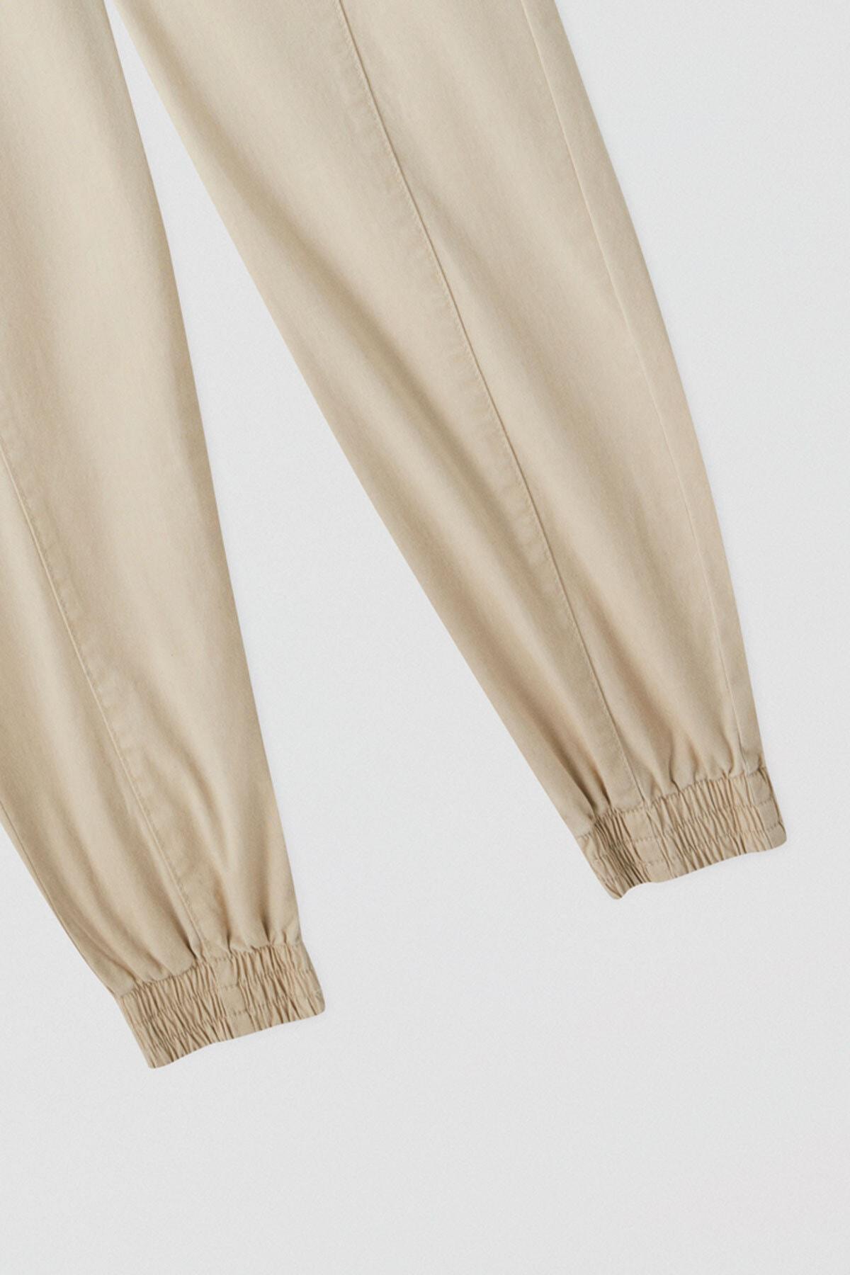 Pull & Bear Kadın Zincirli Kargo Pantolon 05671301 2