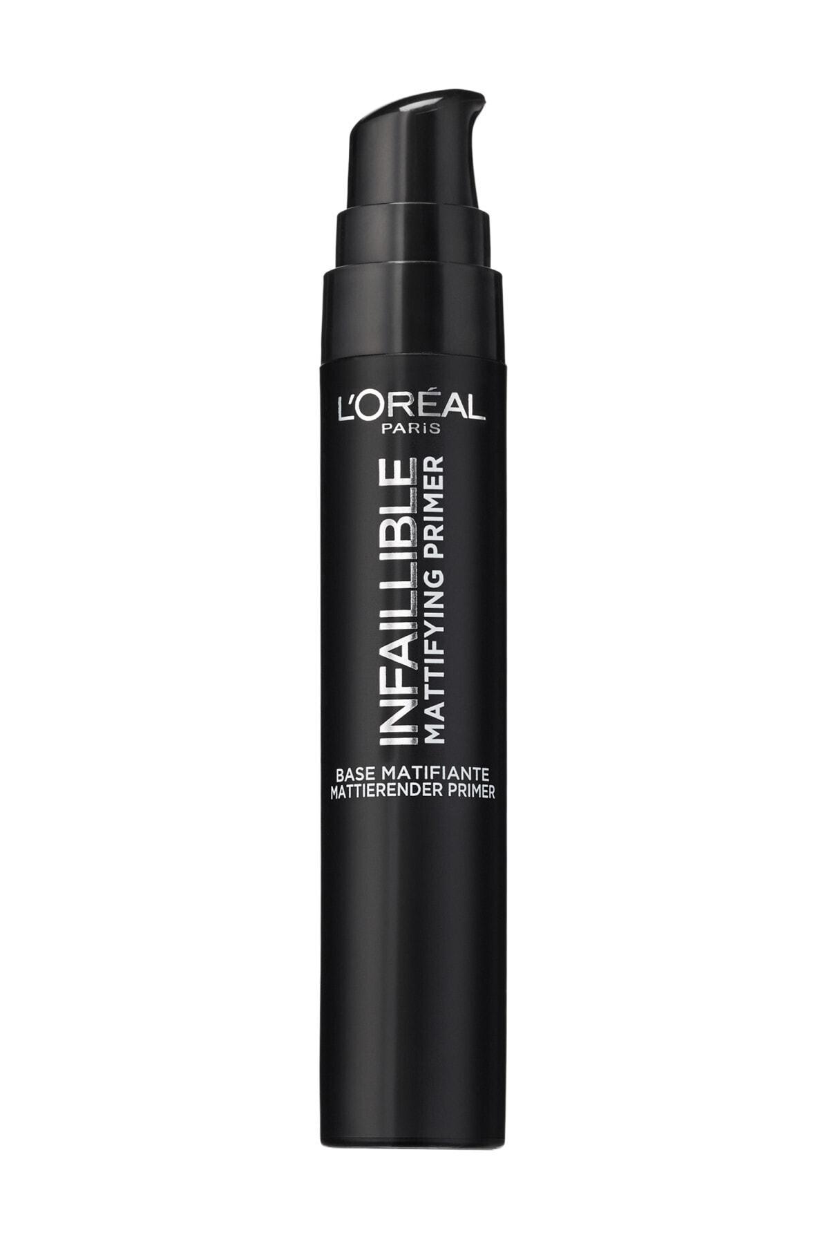 L'Oreal Paris Matlaştırıcı Makyaj Bazı - Infaillible Mattifying Primer 3600523530939 1