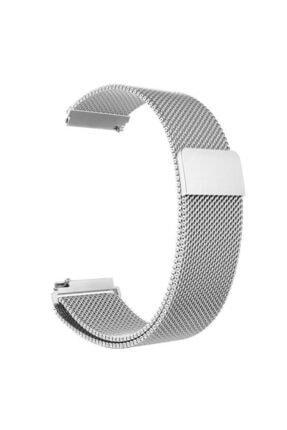 Kılıfist Xiaomi Amazfit Pace Metal Hasır Dokuma Kordon Krd-12