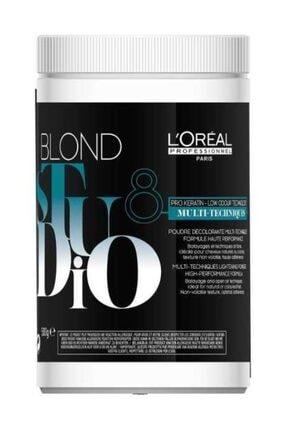 L'oreal Professionnel Saç Açıcı Toz 500 g -  Blond Studio Multi Techniques-8 3474636394937