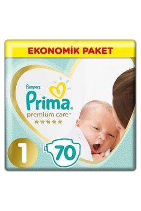 Prima Premium Care Bebek Bezi 1 Beden Yenidoğan 70 li