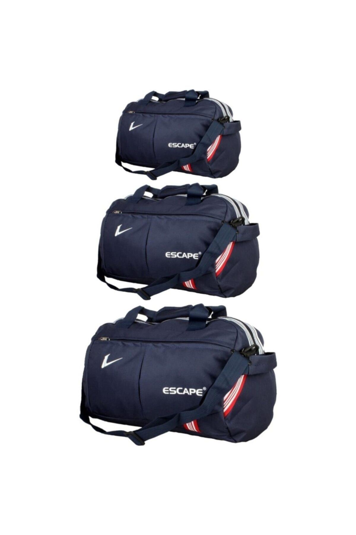 ESCAPE Spor Ve Seyahat Çantası3'lü Set 1