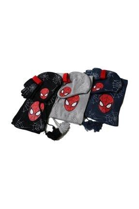 MARVEL Spiderman Atki Bere Eldiven Seti Cap-0148 Lacivert