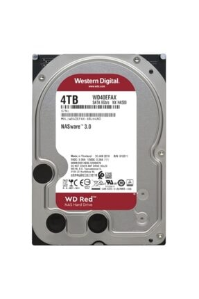 "WD Wd 4tb Red Wd40efax 5400rpm 6gb-s Sata 3.5"" Nas Disk Harddisk"