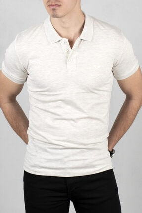 DeepSEA Erkek Düğmeli Polo Yaka Kısa Kol T-shirt