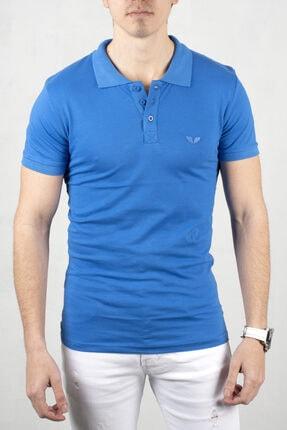 DeepSEA S Erkek Düğmeli Polo Yaka Kısa Kol T-shirt