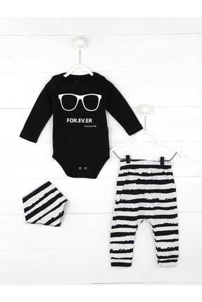Miniworld Siyah Erkek Bebek 3 Lü Takım