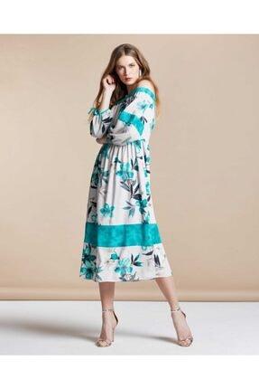 SERPİL Kadın Dijital Baskılı Elbise