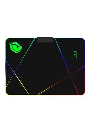 MONSTER Pusat Rgb Gaming Mousepad V2 Wireless Charging