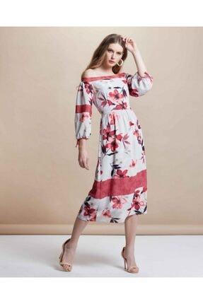 SERPİL Dijital Baskılı Elbise