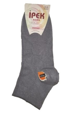 İpek 12 Çift Bambu Dikişsiz Kadın Patik Çorap - Parfümlü