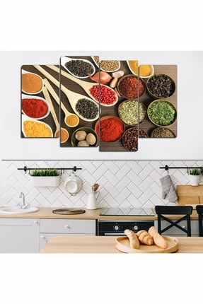 Evinemoda 4 Parçalı Mdf Mutfak Tablo