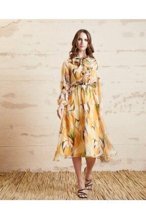 SERPİL Çiçek Desenli Elbise