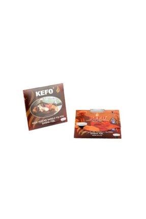 Kefo Hazır Kesilmiş Nargile Folyosu-40 Mikron 10 Adet