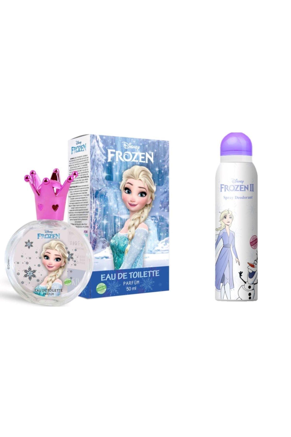 DISNEY Frozen Elsa 50 ml Edt Parfüm + 150 ml Deodorant 1