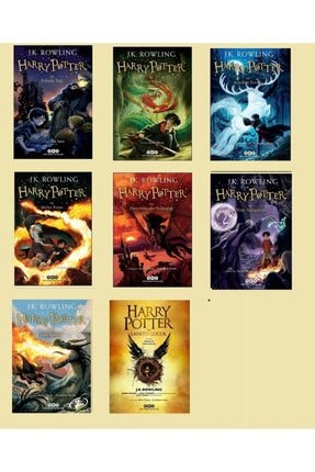 Yapı Kredi Yayınları Harry Potter Set-j. K. Rowling- 8'li Kitap