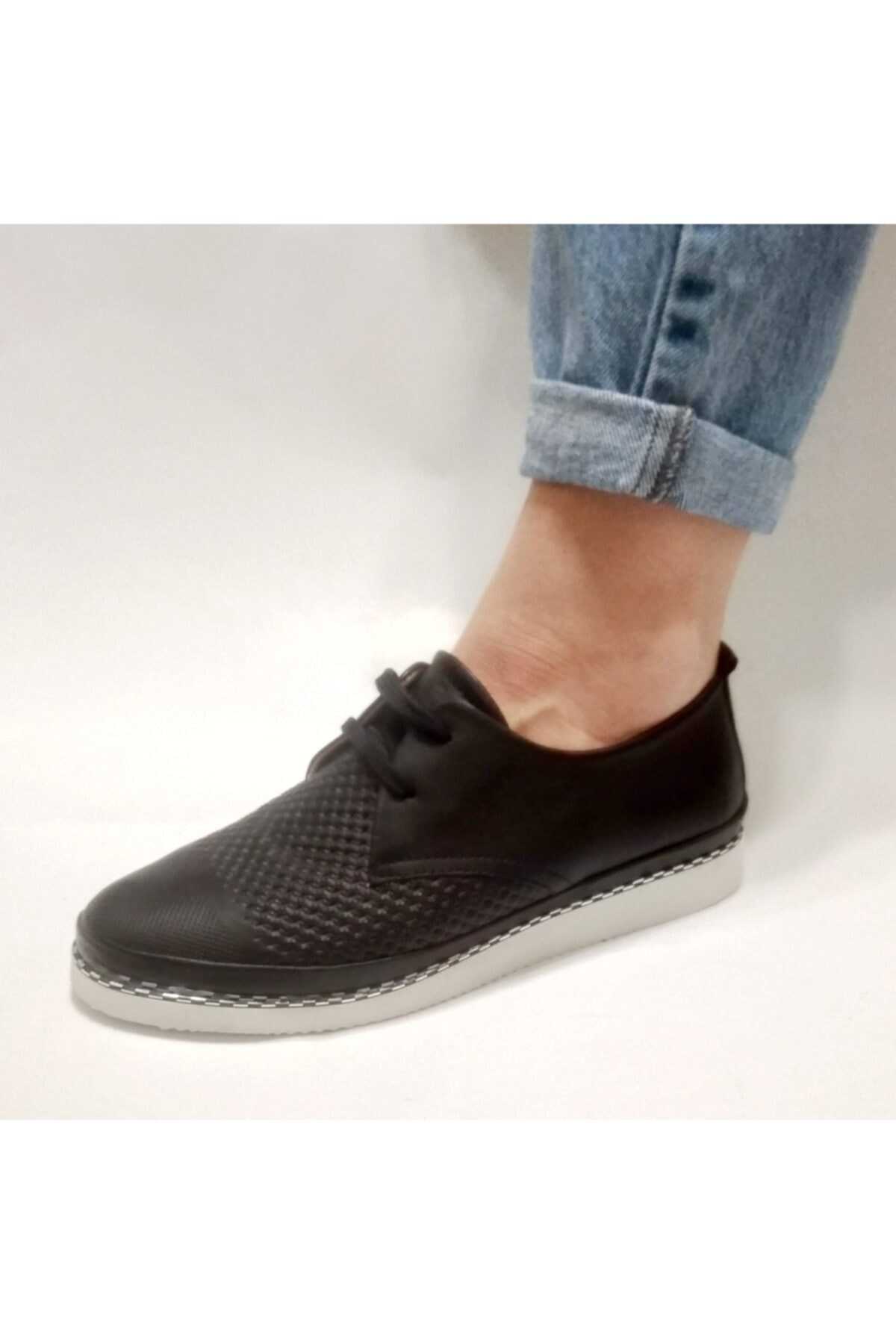 Stella Hakiki Deri Kadın Ayakkabı 1