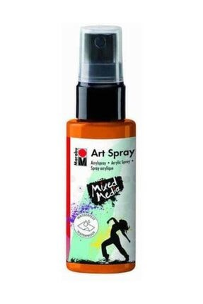 Marabu Art Spray Akrilik Sprey Boya 50 ml 225-Tangerine