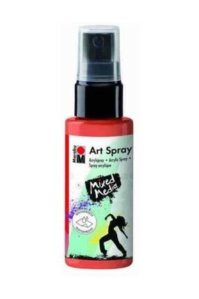 Marabu Art Spray Akrilik Sprey Boya 50ml 023-Red Orange