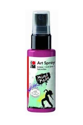 Marabu Art Spray Akrilik Sprey Boya 50ml 034-Bordeaux