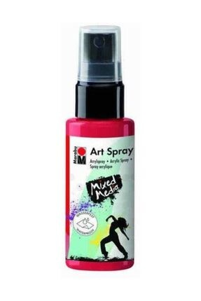 Marabu Art Spray Akrilik Sprey Boya 50ml 123-Chilli