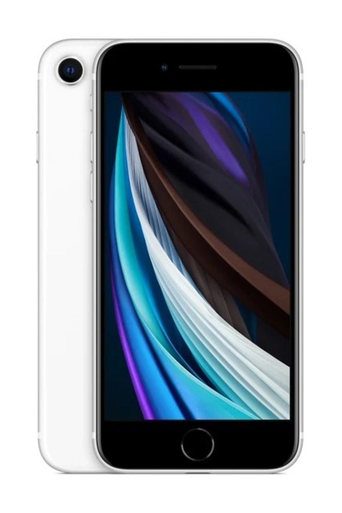 Apple iPhone SE (2020) 64 GB Beyaz Cep Telefonu (Apple Türkiye Garantili) Şarj Aleti Ve Kulaklık Dahildir 1
