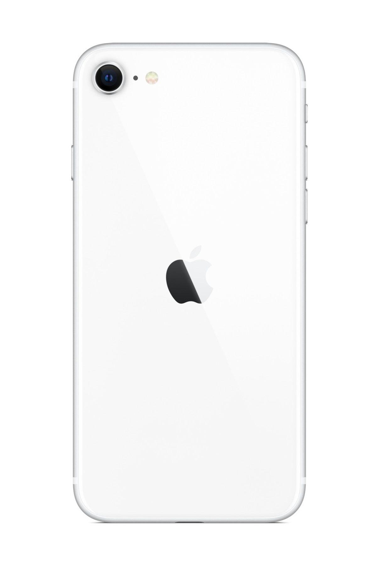 Apple iPhone SE (2020) 64 GB Beyaz Cep Telefonu (Apple Türkiye Garantili) Şarj Aleti Ve Kulaklık Dahildir 2