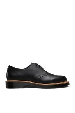 Dr. Martens 1461 3 Eye Straw Siyah Deri Erkek Ayakkabı 23160001 Siyah