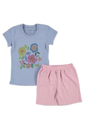 Bebbek Yaz Kız Bebek Süprem Tshirt-Şort
